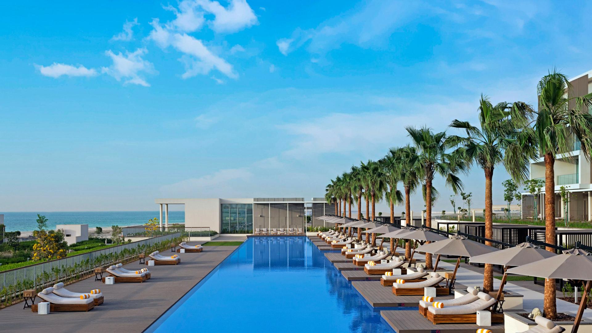 Oberoi Beach Resort Al Zorah Pool