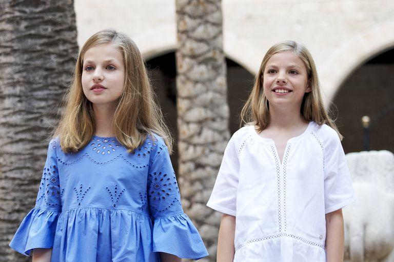 Queen Letizia, King Felipe, And Their Daughters Soak Up The Sun In Mallorca