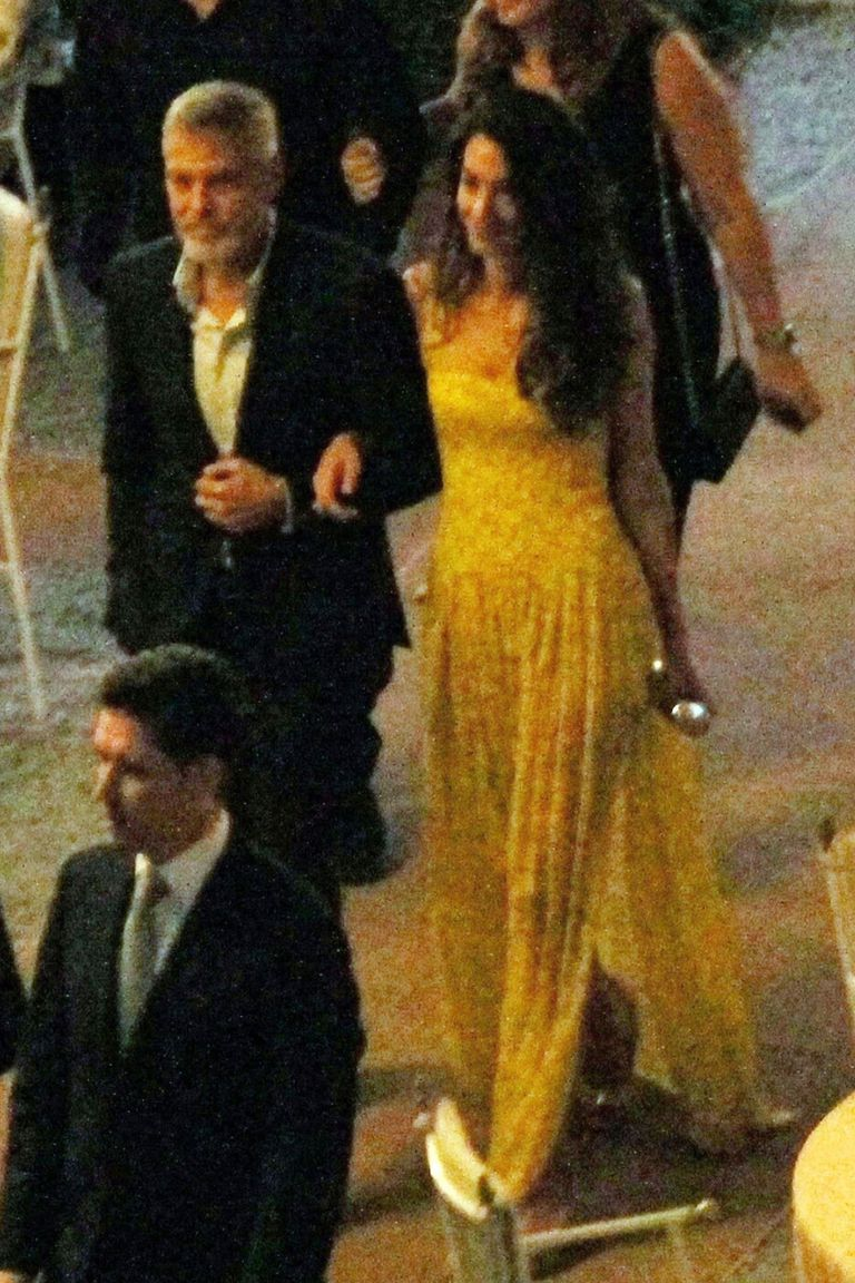 Amal Clooney Wore Yellow Again