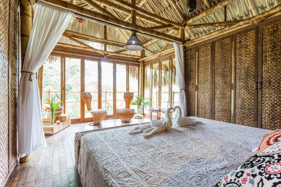 7 Hideout Bali Eco Bamboo Home (Bali, Indonesia)