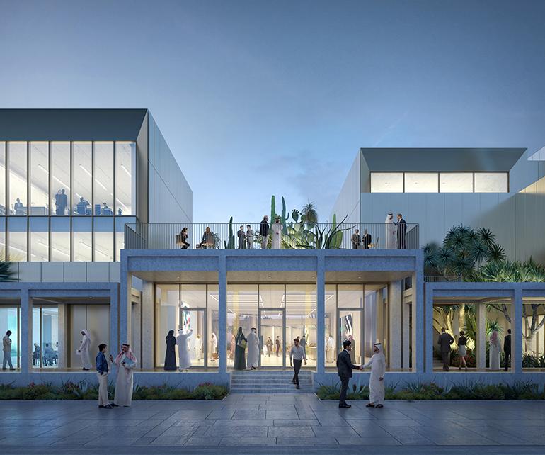 Jameel Arts Centre Dubai entrance