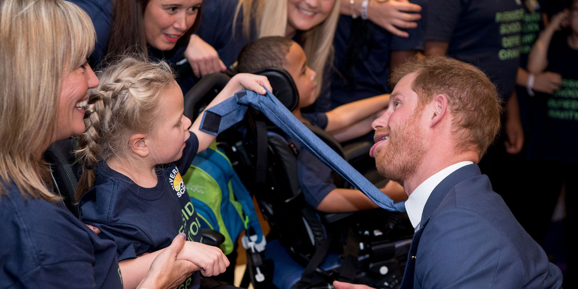 Meghan Markle and Prince Harry Had the Sweetest Moments with Kids at the WellChild Awards