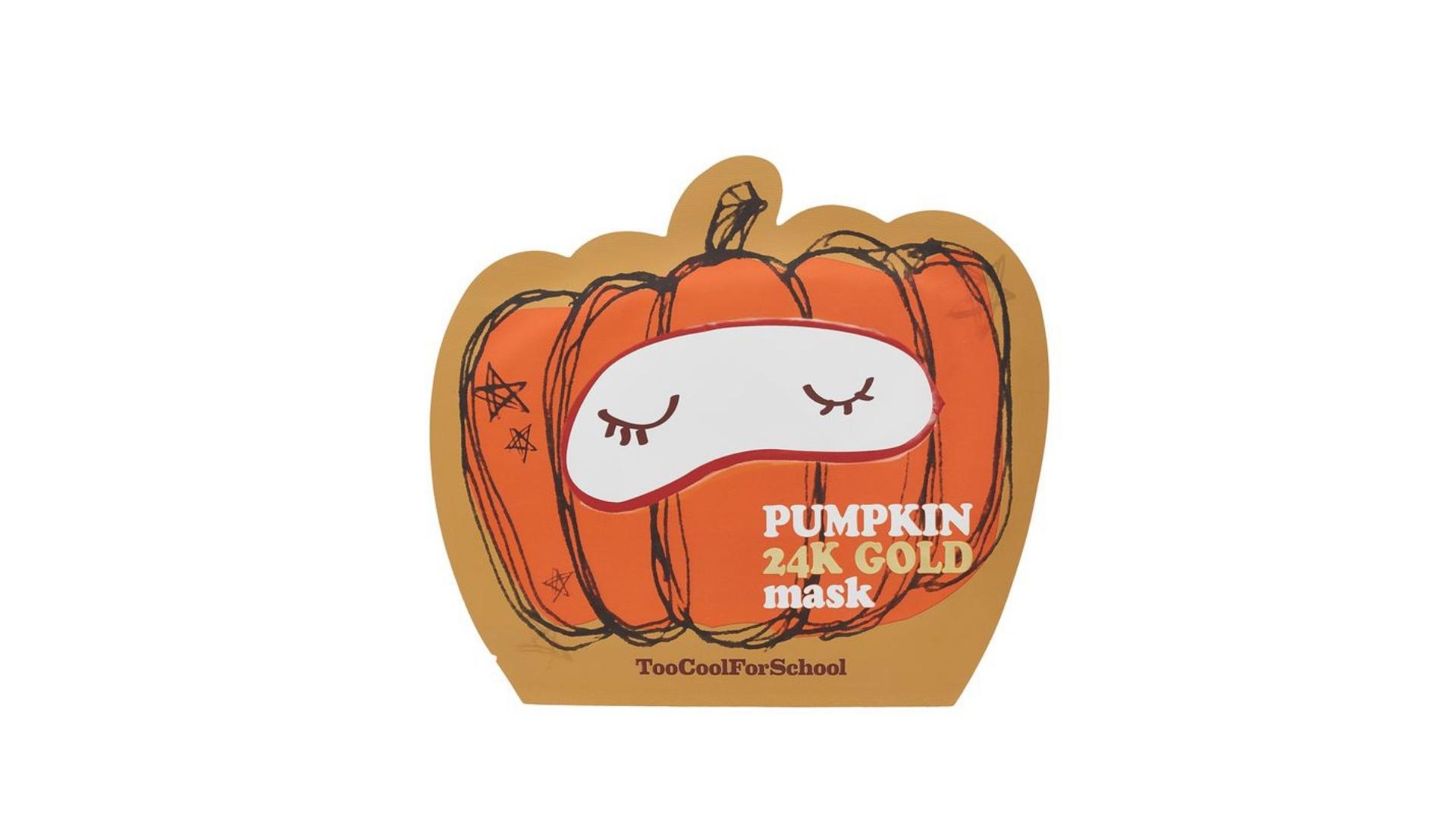 Too Cool For School Pumpkin 24k Mask