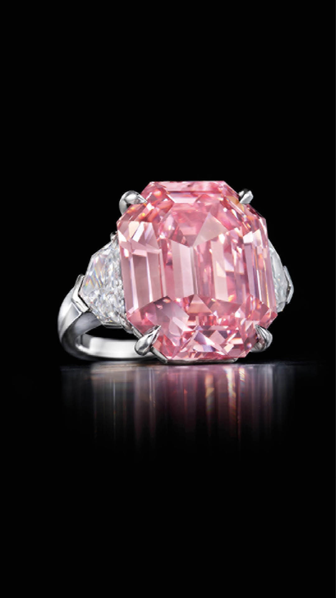 The Pink Legacy Diamond Fancy Vivid Pink