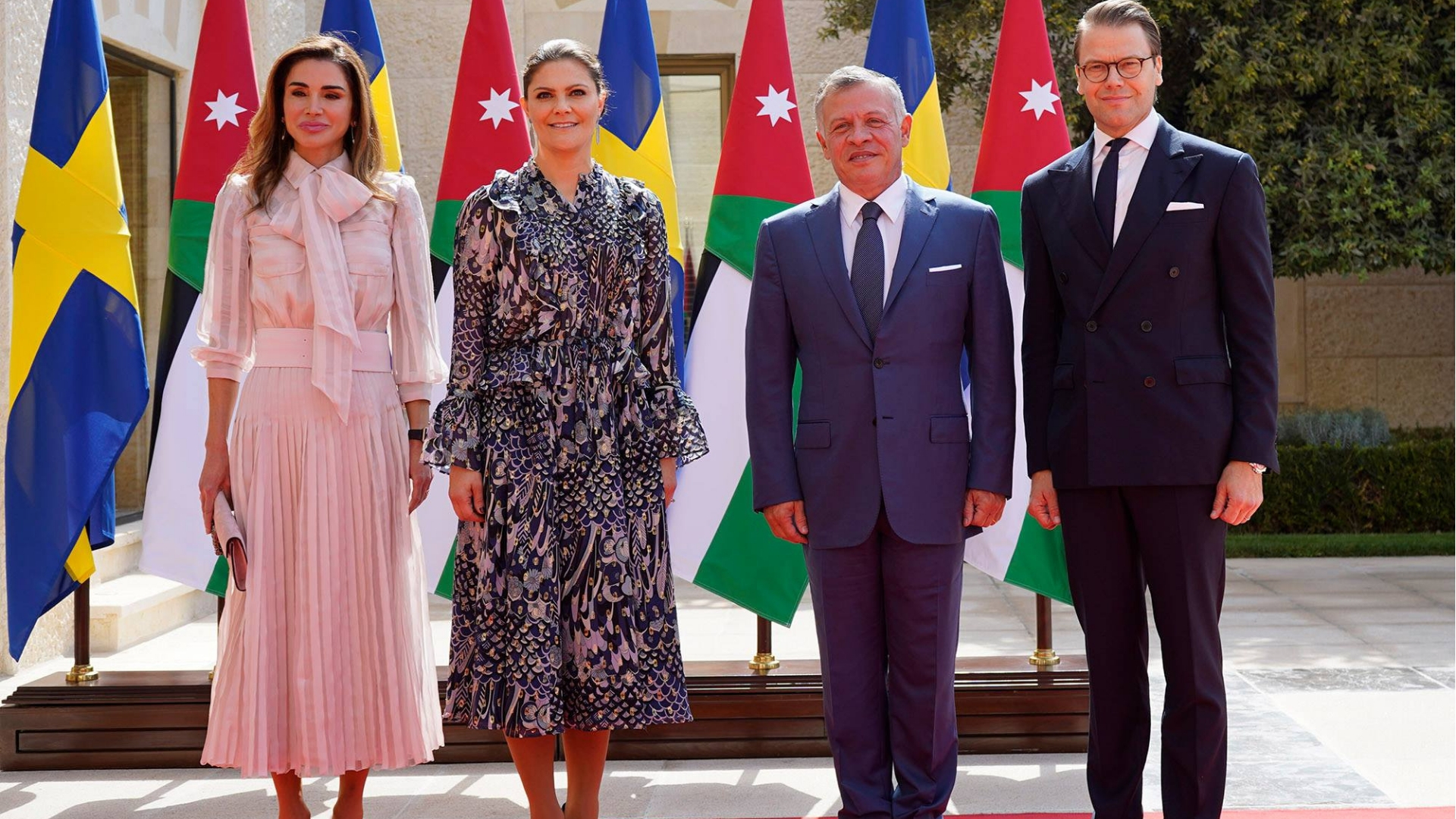 Queen Rania wears Ralph & Russo