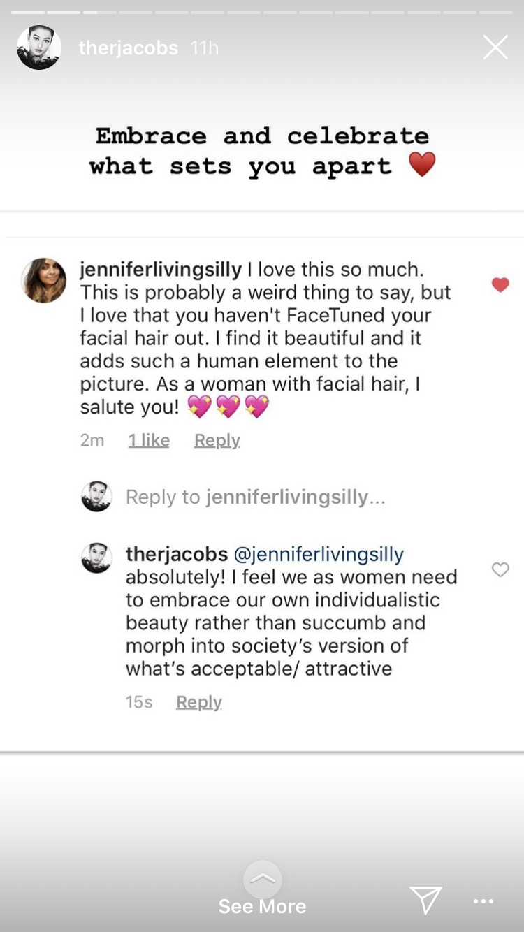 Rhea Jacobs Keeps It Real With Her Fans