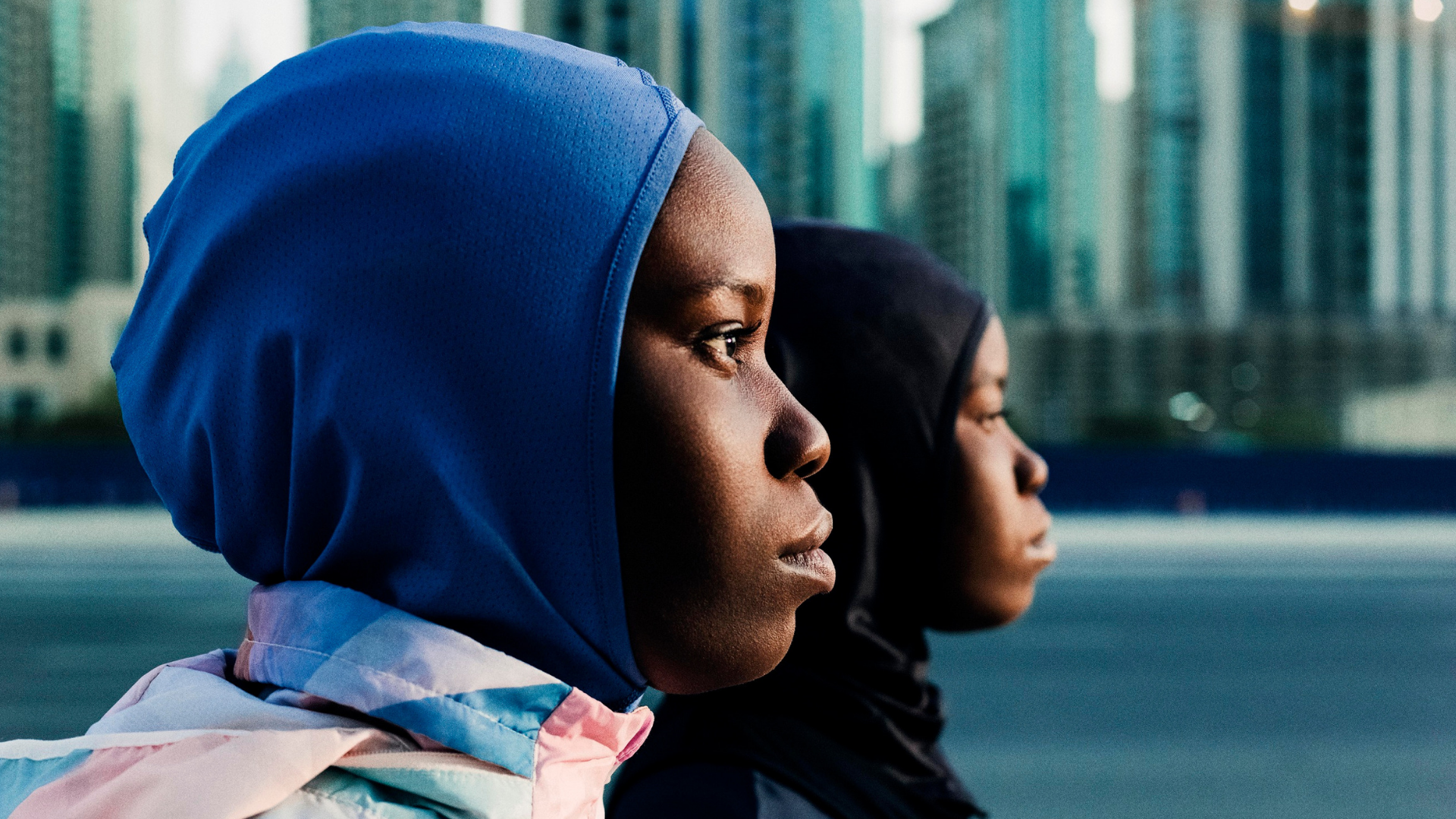 semáforo patrulla Oso  Nike Middle East Campaign Features Dubai's Young Athletes | Harper's BAZAAR  Arabia