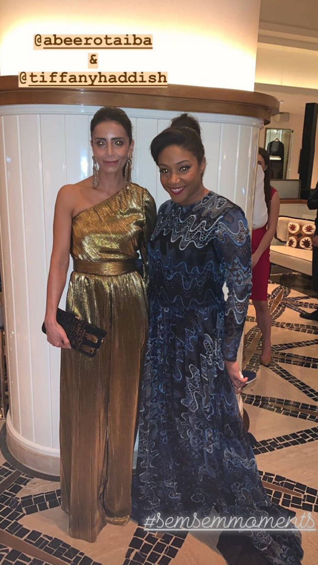 Tiffany Haddish Was Saved From A Fashion Mishap In Abu Dhabi By Semsem Harper S Bazaar Arabia