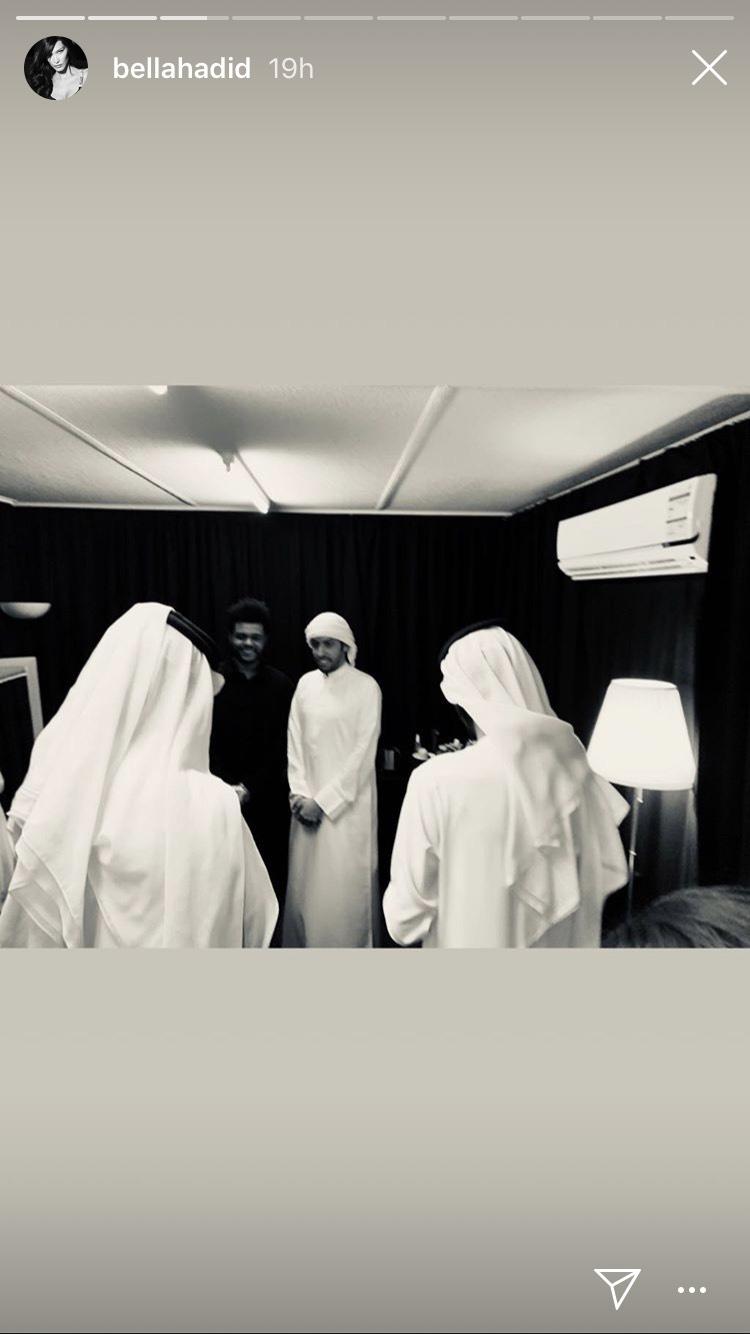 Every Moment of Bella Hadid's Abu Dhabi Trip