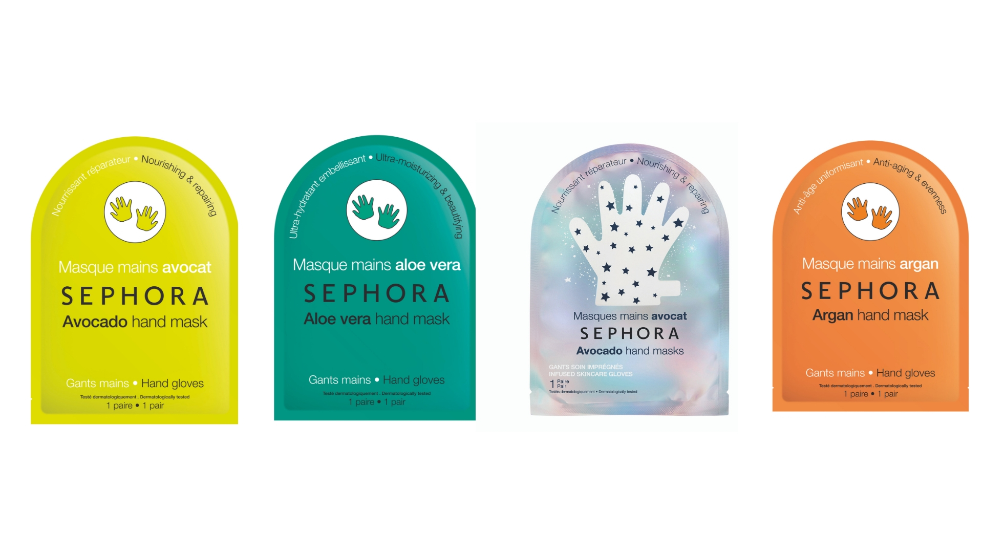 Sephora Collection of Hand Masks