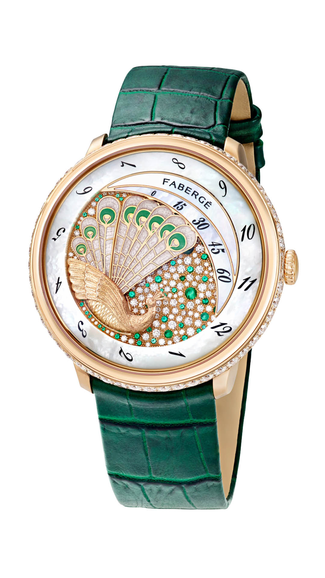 Faberge Lady Compliquee Watch Green