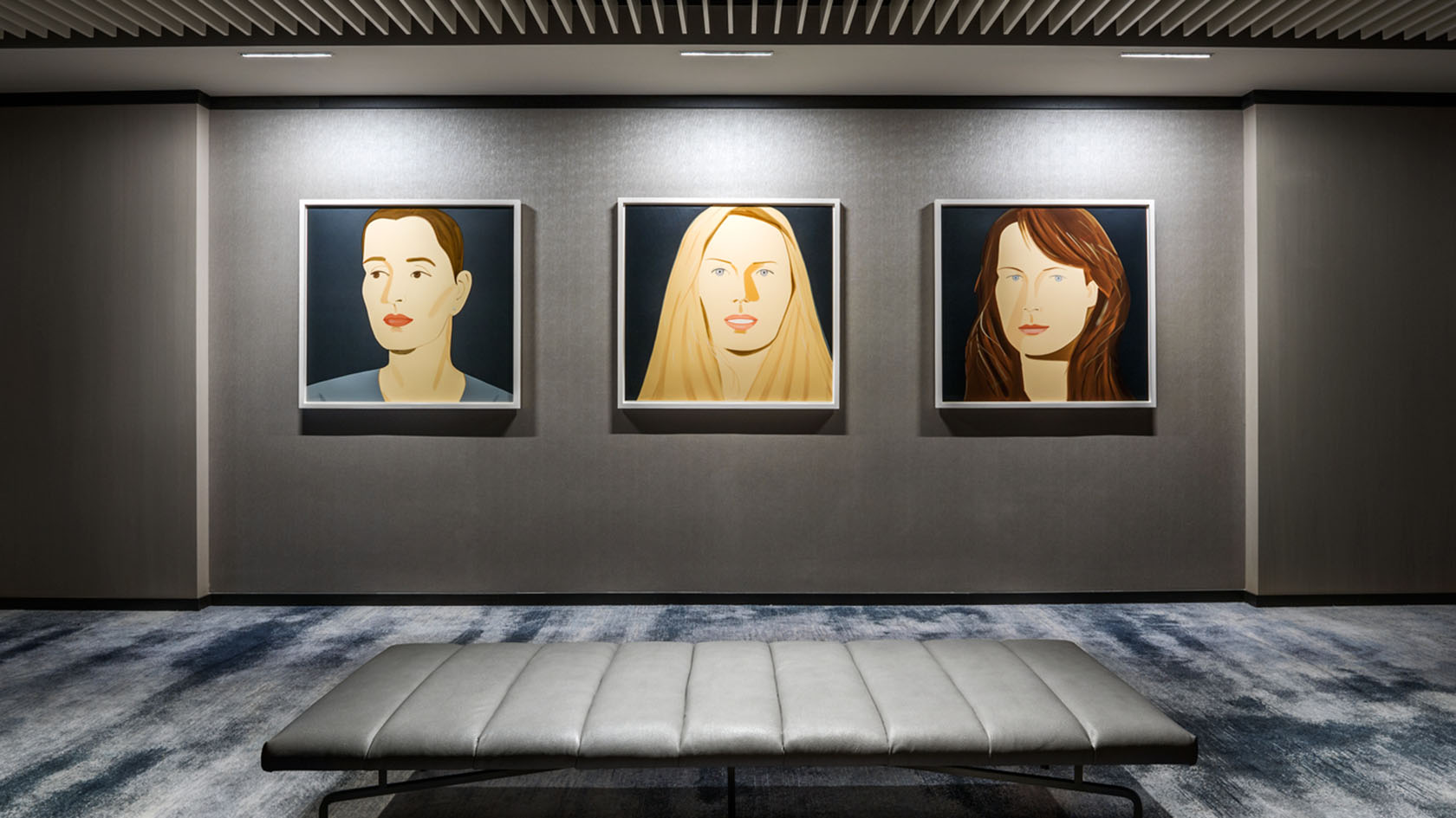 Langham Kips Bay, The Gallery, Alex Katz artworks