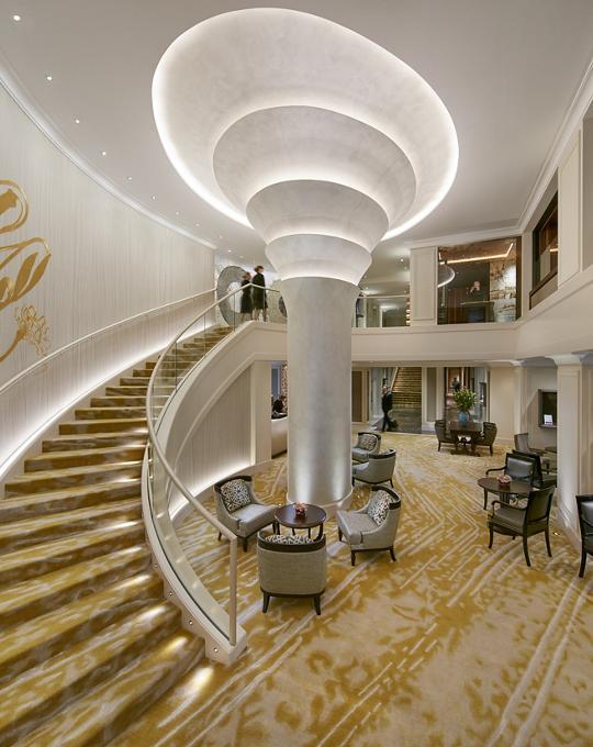 Mandarin Oriental Munich Hotel Lobby