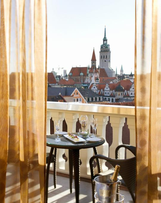 Mandarin Oriental Munich Suite Balcony View
