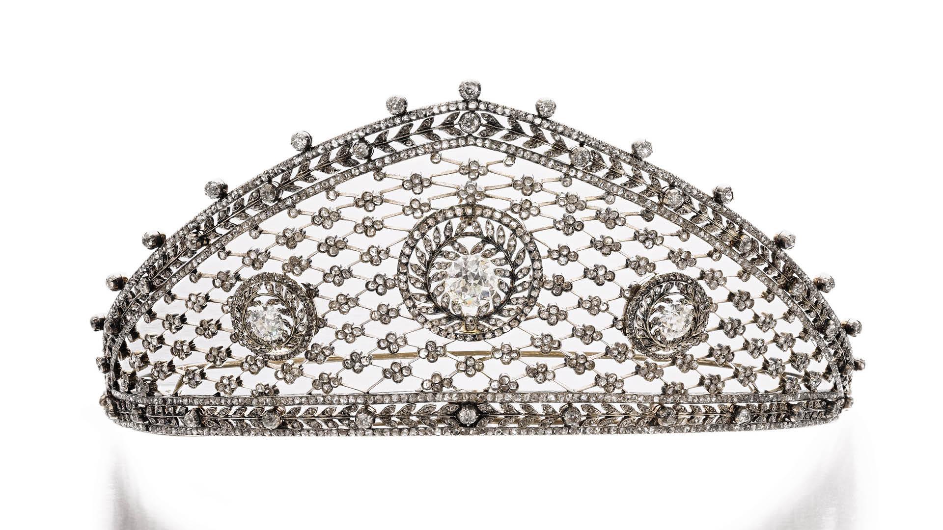 Sotheby's Faberge Tiara Geneva