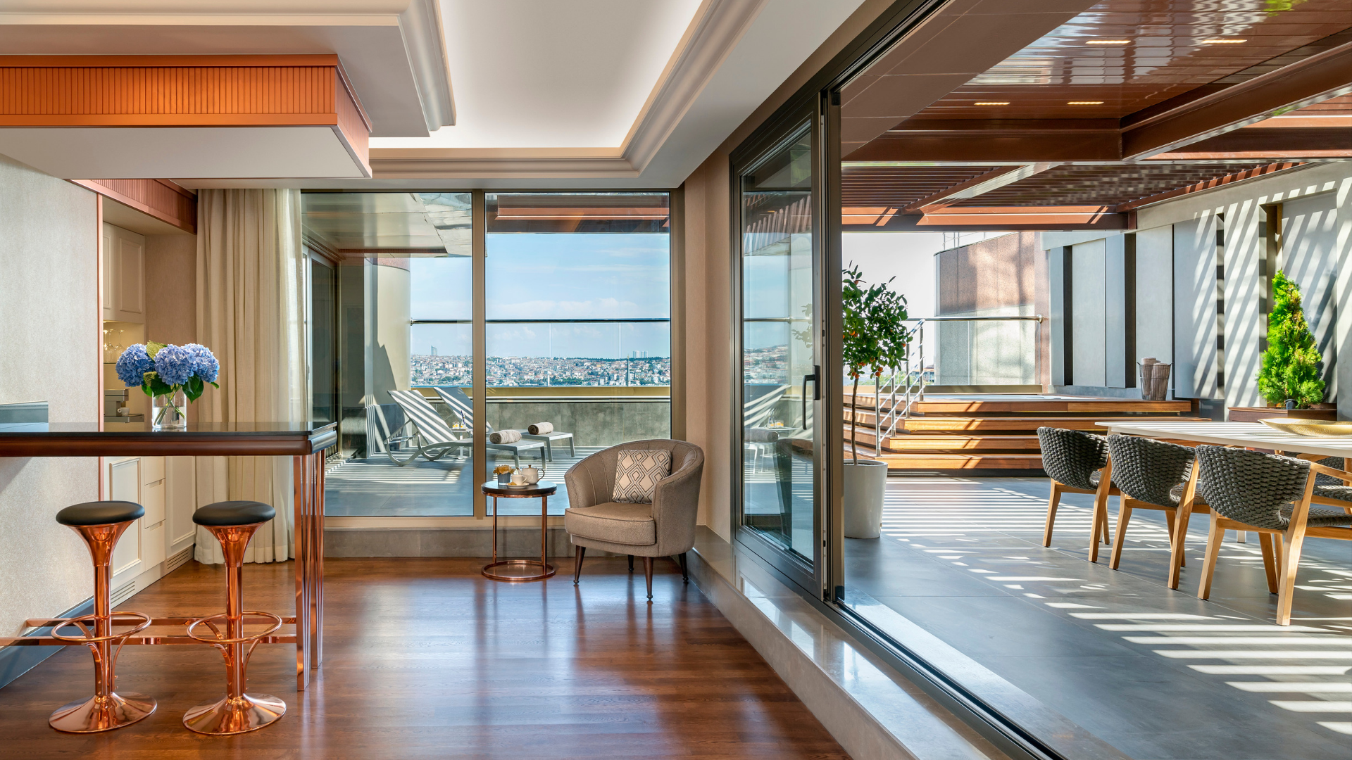 Experience contemporary Ottoman chic on the bank of the Bosphorus.