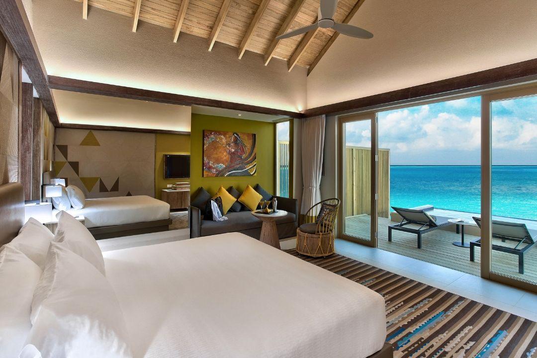 Hard Rock Maldives overwater villas