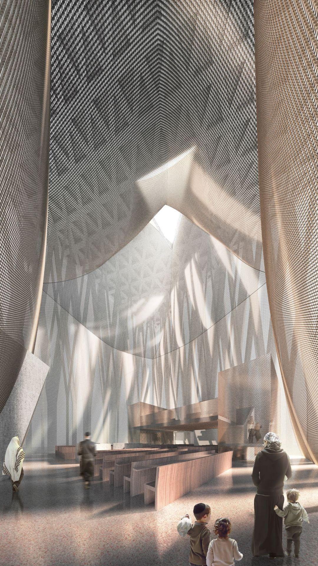 Abrahamic-Family-House-Synagogue-Interior-Adjaye-Associates