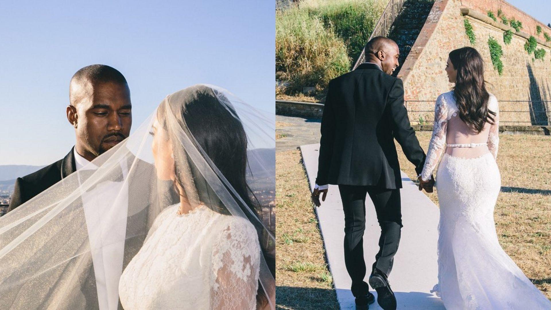 Kim Kardashian And Kanye West Just Renewed Their Wedding Vows In Secret Harper S Bazaar Arabia