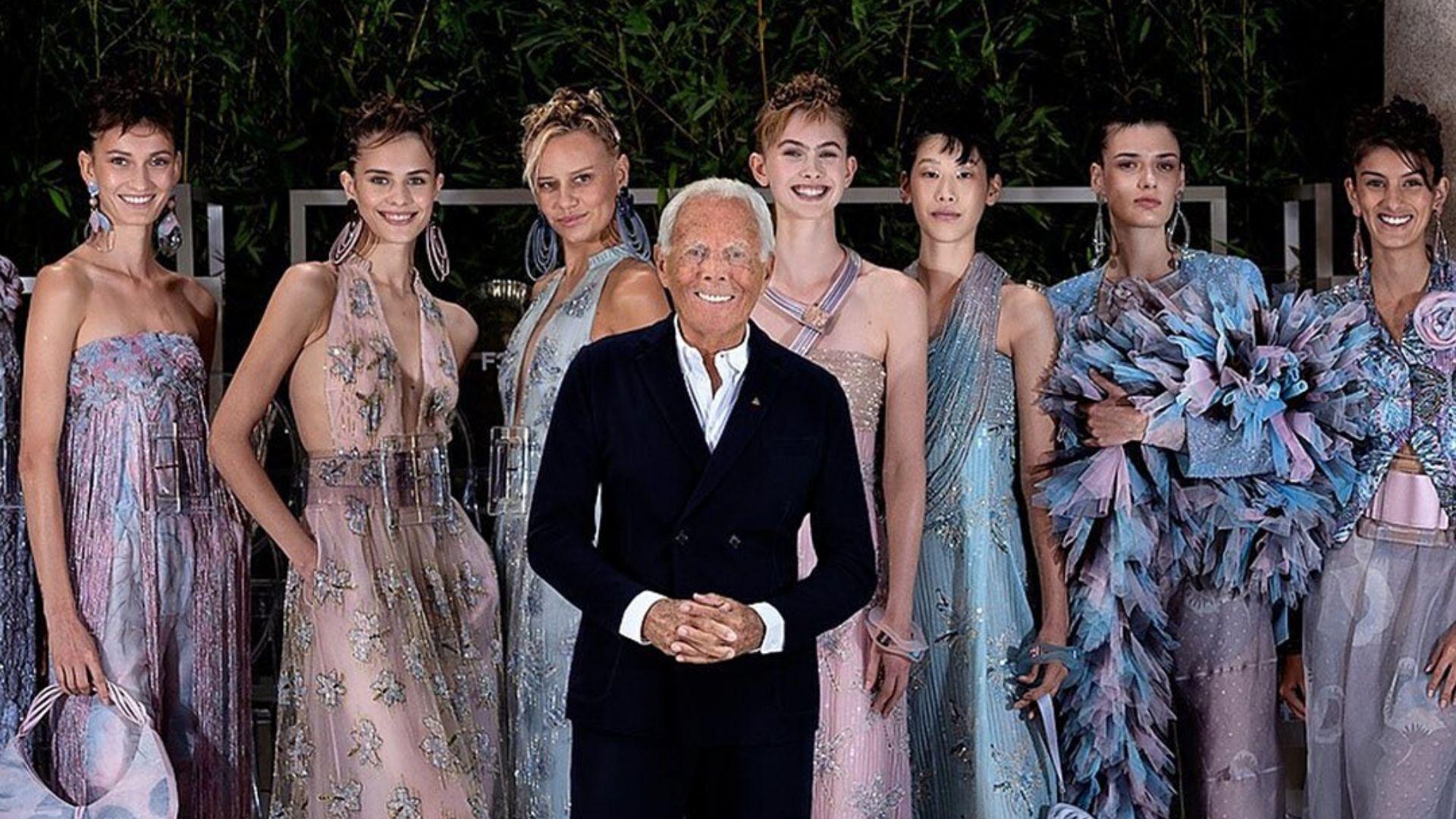 Giorgio Armani Is Bringing His Legendary Fashion Show To Dubai Harper S Bazaar Arabia