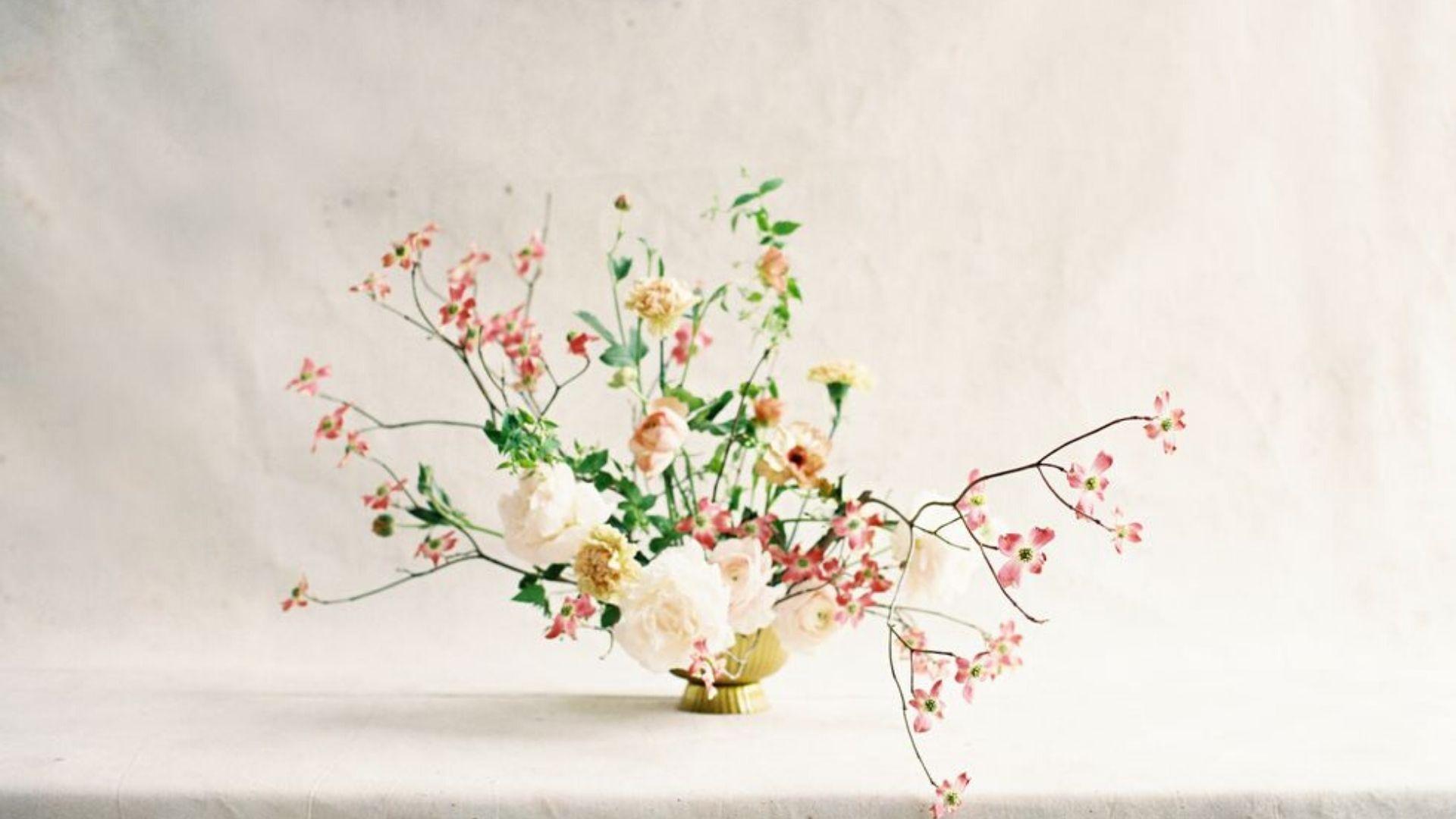 Chic Spring Wedding Flower Ideas To Steal Asap,Background Wedding Banner Design In Marathi