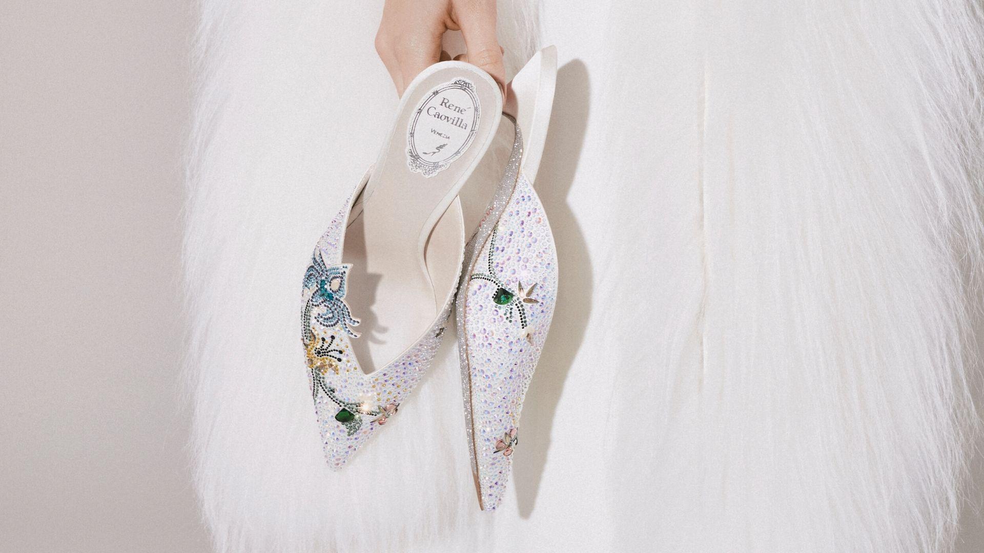 Rene Caovilla Launches A New 2020 Bridal Collection Harper S
