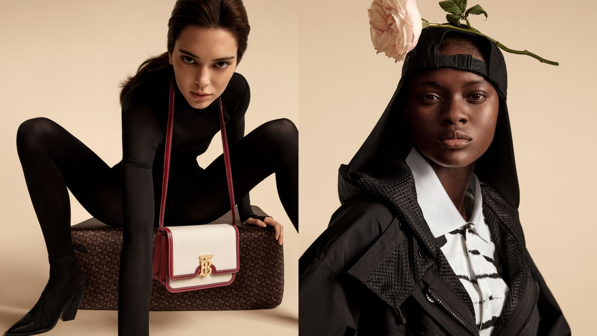 Kendall Jenner Burberry Campaign