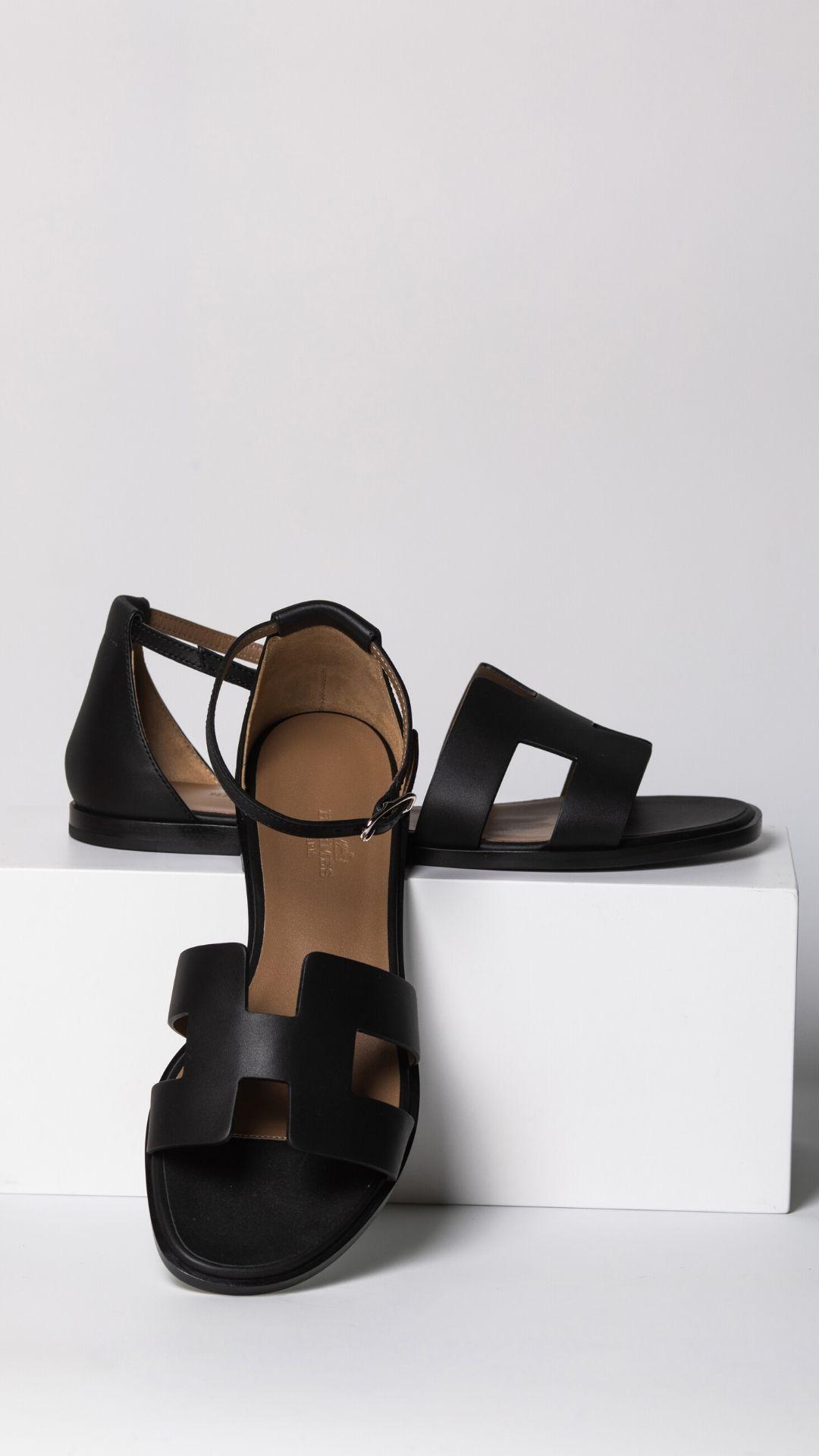 fashion, womenswear, shoes, hermes, ss20