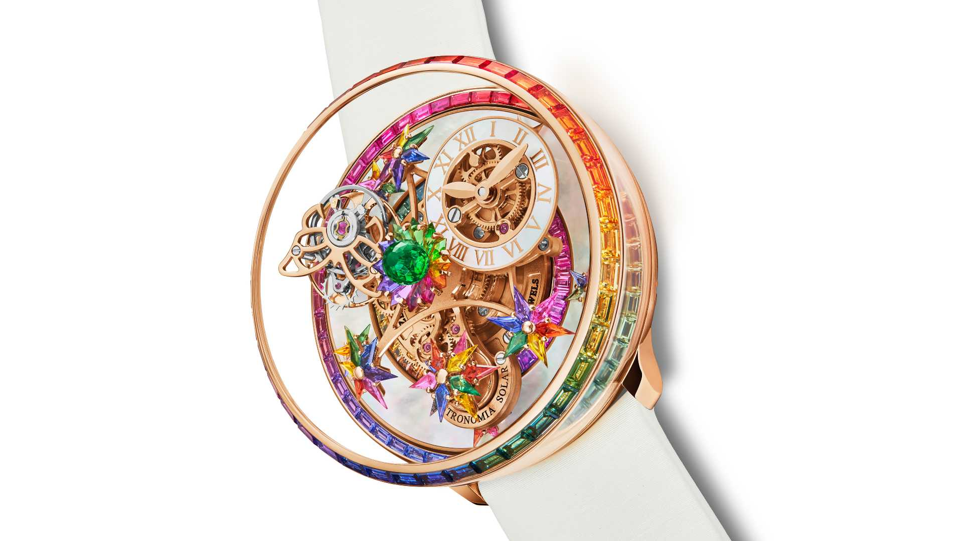 Jacob & Co's The Astronomia Fleurs de Jardin is a celebration of craftsmanship