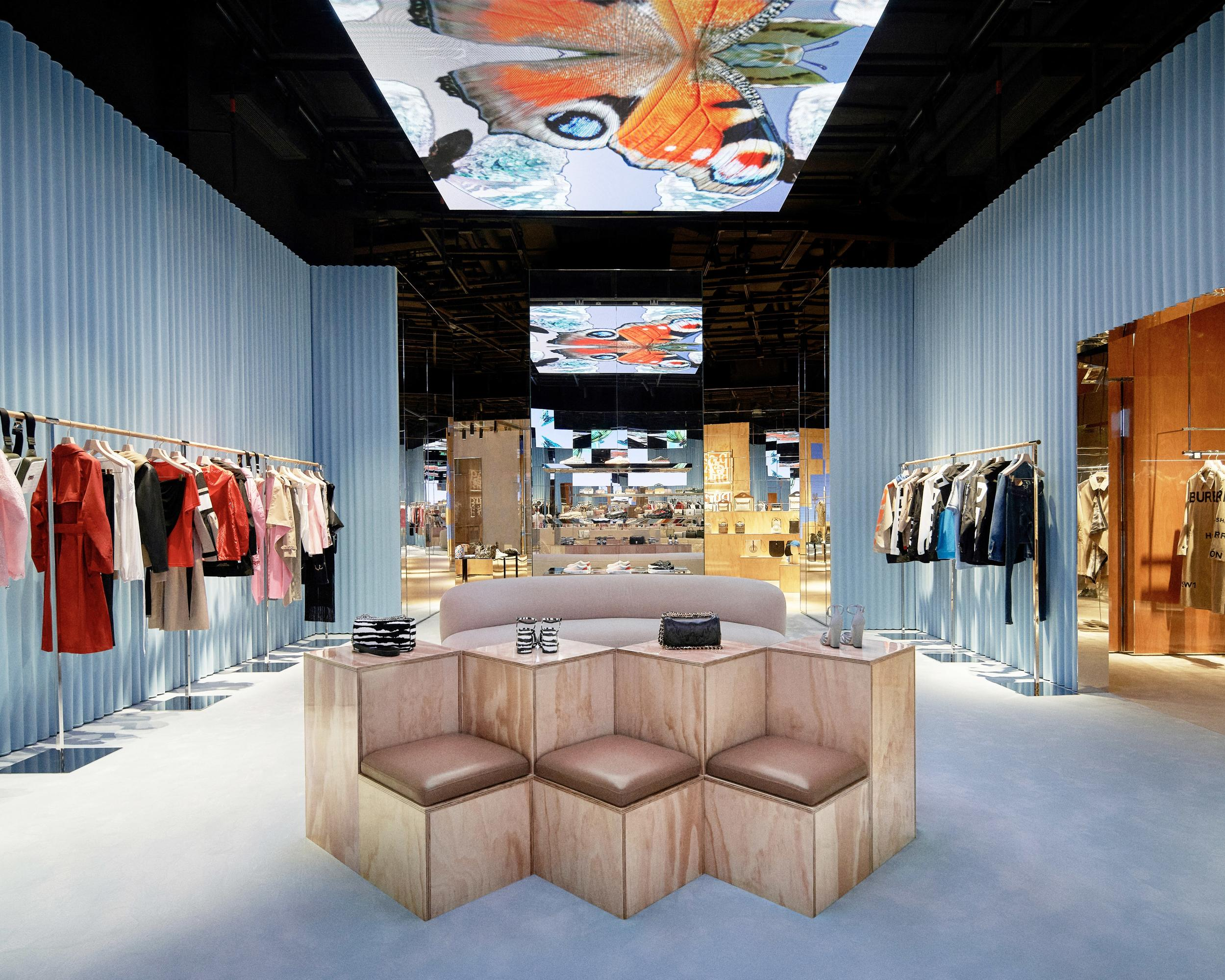 Burberry Debuts The First Luxury 'Social Retail' Store