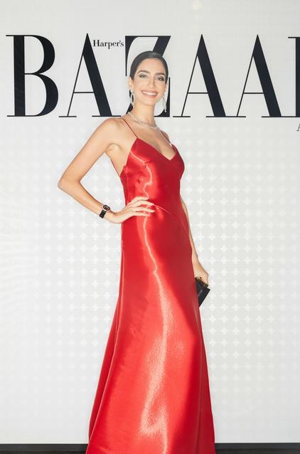 Jessica Kahawaty wearing Ralph Lauren