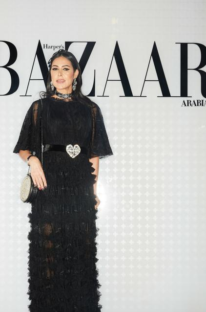 Nour Atassi wearing Valentino