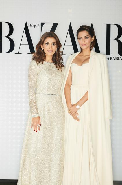 Rosemin Manji and Sonam Kapoor