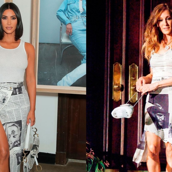 Kim Kardashian West Just Re-Created Carrie Bradshaw's