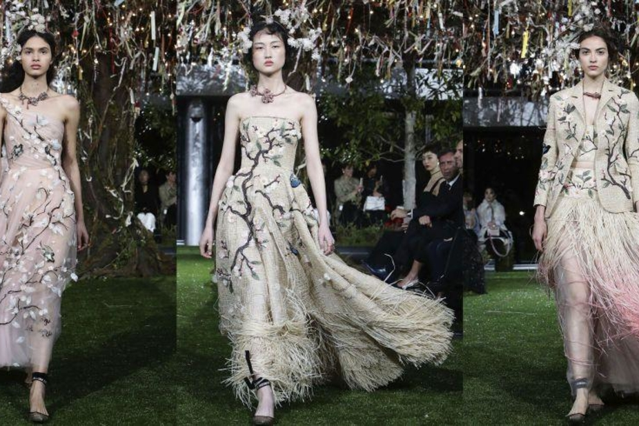Christian Dior S Cherry Blossom Show In Tokyo