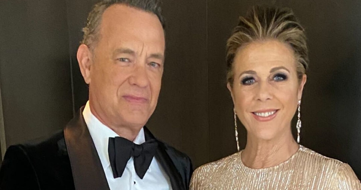 Tom Hanks And Rita Wilson Fly Back Home From Australia