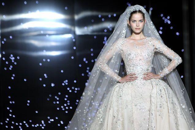 Top 10: Breathtaking Haute Couture Wedding Dresses