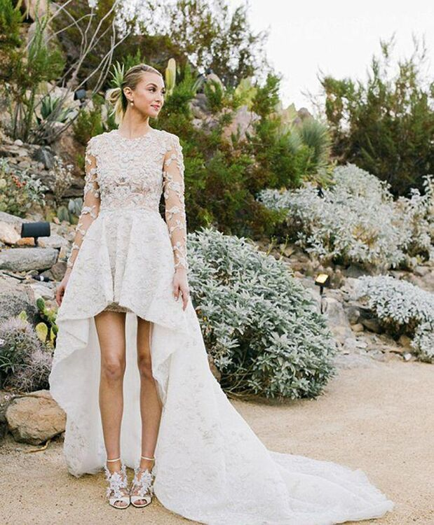 Whitney Port Weds Wearing Ashi Studio