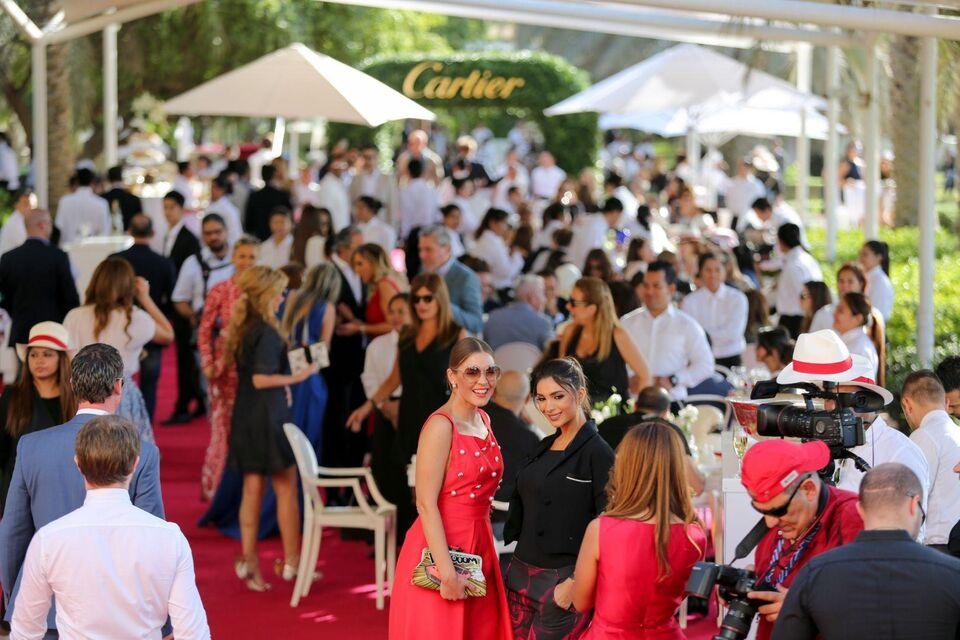 The Cartier International Polo Challenge Dubai 2015