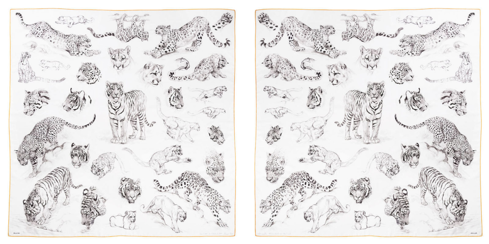Hermès Is Saving Wild Cats One Stunning Scarf At A Time