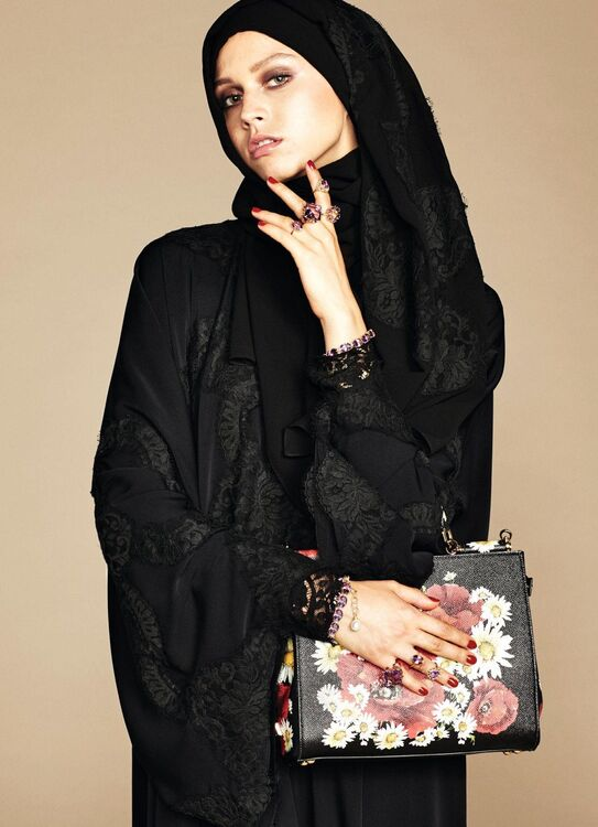 Dolce & Gabanna Introduce Line Of Hijabs And Abayas