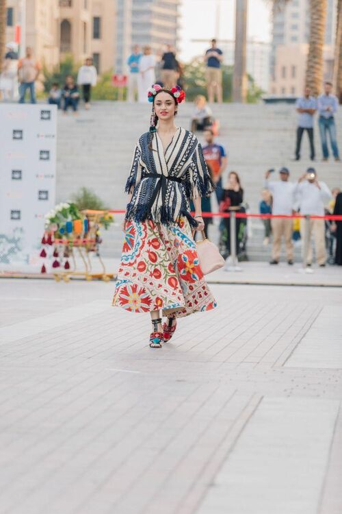 The S*uce-Curated Street Catwalk In Dubai