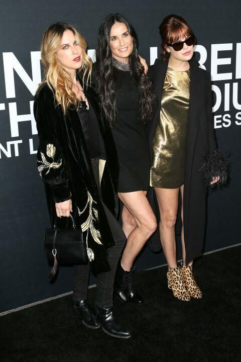 10 Of The Most Stylish FROW Attendees At Saint Laurent A/W16