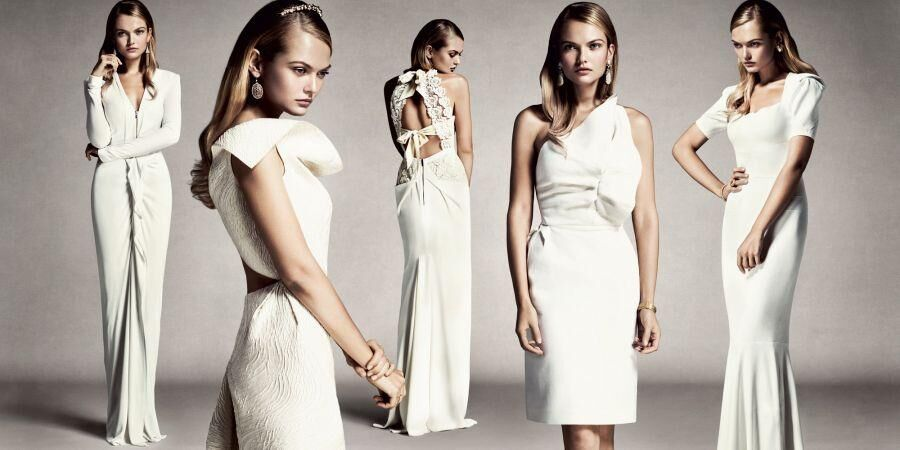 Roland Mouret's Bridal Collection Is Now Available At The Dubai Mall