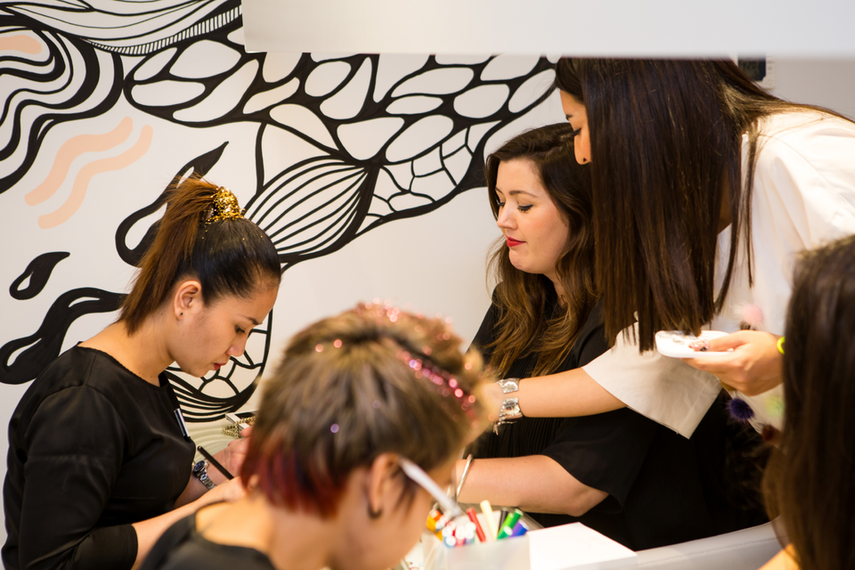 The Nail Spa and Bazaar Celebrate #BeautyOnTheBeach