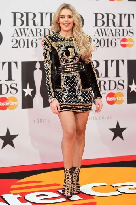 The 7 Best Looks From The Brit Awards Red Carpet