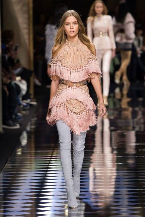 The 16 Best Looks From Balmain A/W16