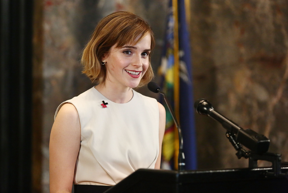 Emma Watson Launches HeForShe Arts Week