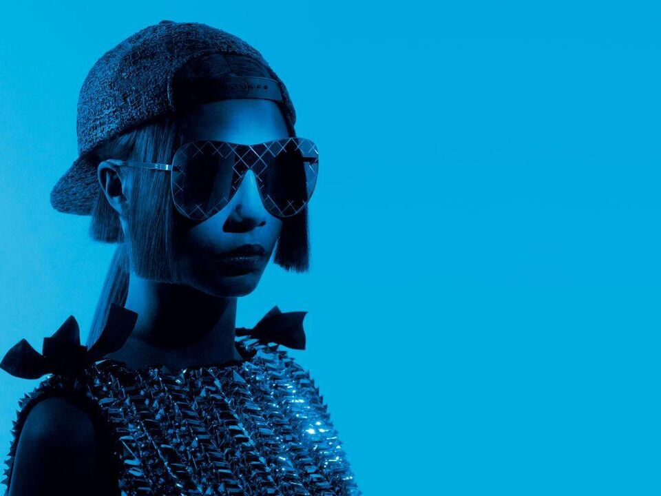 Cara Delevingne Is Revealed As The Face Of Chanel Eyewear
