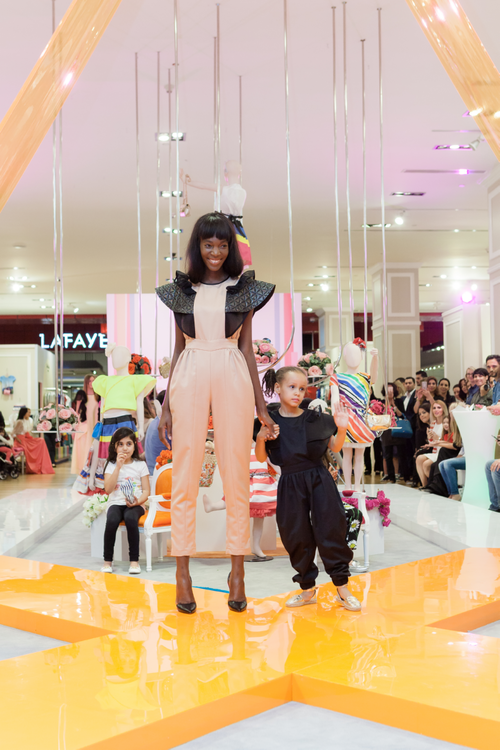 Harper's Bazaar Junior And Galeries Lafayette Host A Fashionable Evening For Mums & Kids